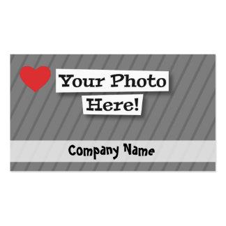Créez vos propres carte de visite standard