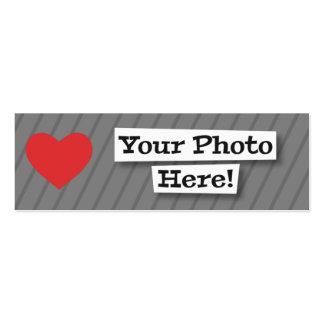 Créez vos propres carte de visite petit format