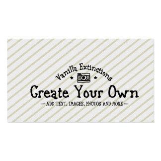 Créez vos propres carte de visite