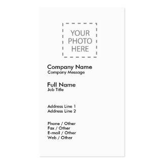 Créez vos propres cartes de visite personnelles