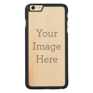 Créez vos propres coque carved® en érable pour iPhone 6 plus case