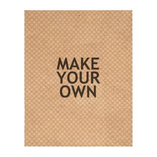 Créez vos propres dans une étape facile ! impressions sur papier en liège