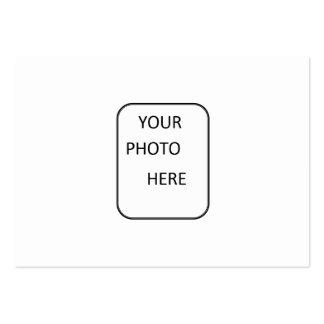 Créez votre d'une carte de collection aimable carte de visite grand format