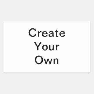 Créez votre propre autocollant de rectangle