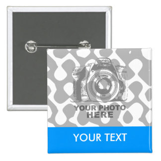 Créez votre propre bouton carré horizontal macaron carré 5 cm