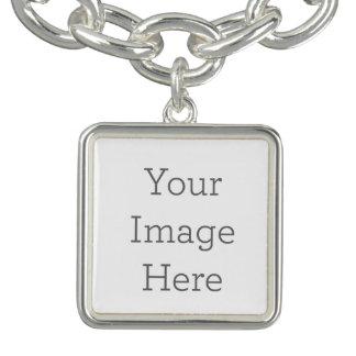 Créez votre propre bracelet carré de charme