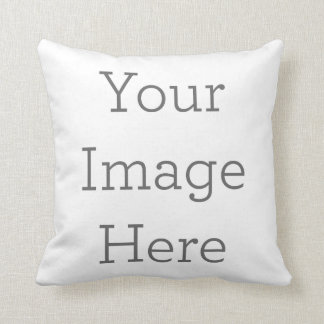 Créez votre propre carreau 16x16 de polyester coussin décoratif