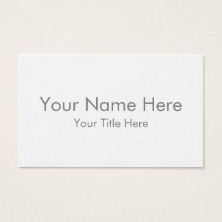 Créez votre propre carte de visite d'Océanie