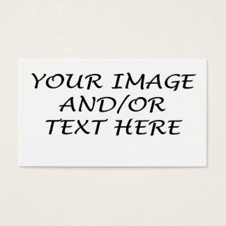 Créez votre propre carte de visite horizontal