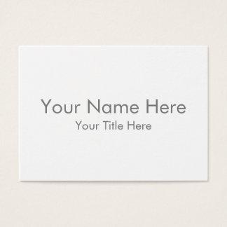 Créez votre propre carte de visite puissant