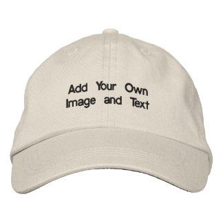 Créez votre propre chapeau brodé