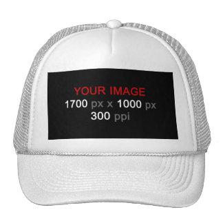 Créez votre propre chapeau fait sur commande de casquette de camionneur