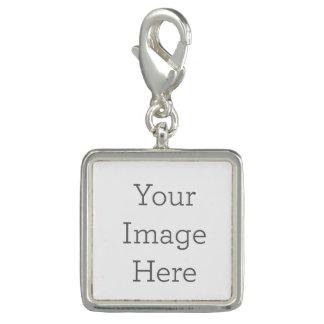 Créez votre propre charme carré de bracelet
