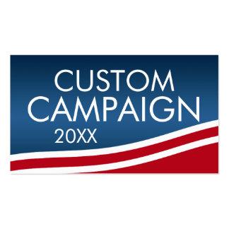 Créez votre propre conception d'élection carte de visite standard