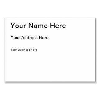 Créez votre propre coutume carte de visite
