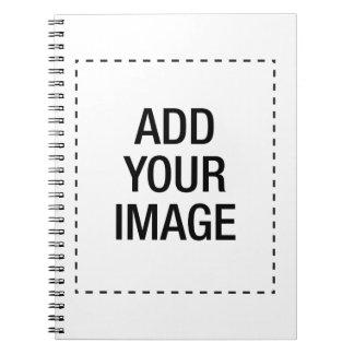 Créez votre propre coutume customizeable carnets à spirale