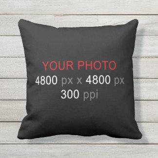 Créez votre propre coutume de photo 16 pouces coussin décoratif