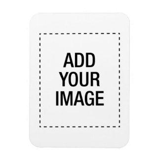 Créez votre propre customizeable fait sur commande magnet rectangulaire avec photo