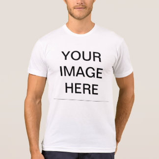 Créez votre propre mélange américain de Poly-Coton T-shirt