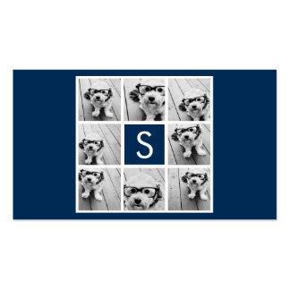 Créez votre propre monogramme de coutume de carte de visite standard