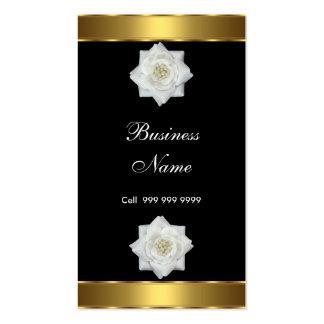 Créez votre propre or de noir de carte de visite