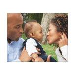 Créez votre propre photo de famille faite sur comm toiles tendues