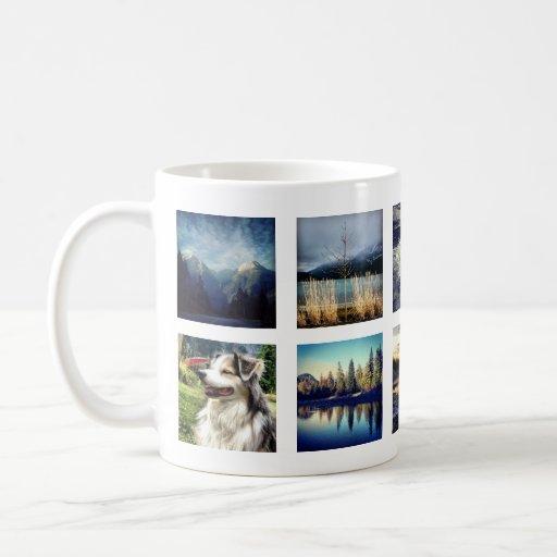 Créez votre PROPRE photo faite sur commande d'inst Mug À Café