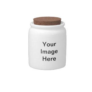 Créez votre propre pot de sucrerie jars à bonbons