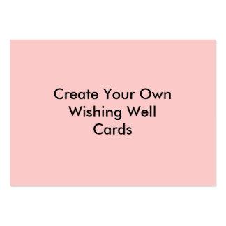 Créez votre propre rose bon de souhait de cartes modèles de cartes de visite