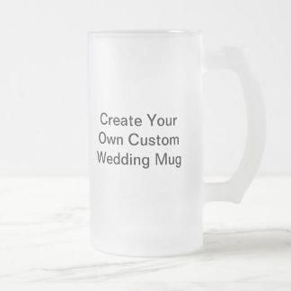Créez votre propre tasse givrée par mariage fait