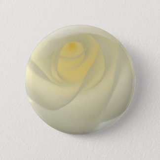 Creme Rose Eye 2 Inch Round Button