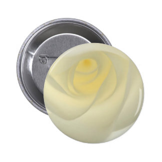 Creme Rose Eye 2 Inch Round Button