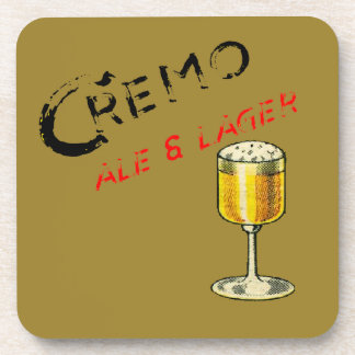Cremo Ale & Lager Beer Coaster