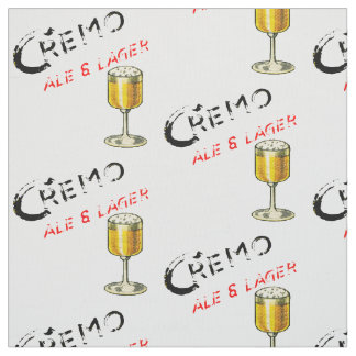 Cremo Ale & Lager Beer Fabric