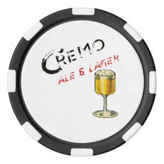Cremo Ale & Lager Beer Poker Chips