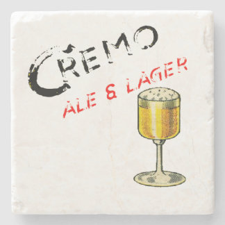 Cremo Ale & Lager Beer Stone Coaster