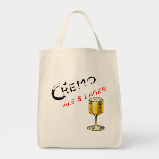 Cremo Ale & Lager Beer Tote Bag