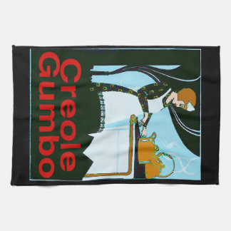 Creole Gumbo Cook Kitchen Towel