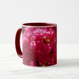 Crepe Myrtle Tree Magenta Flowers Mug