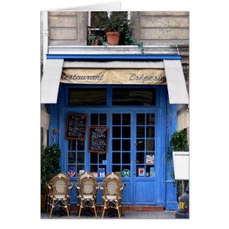 crêperie bleu - Postcard from Paris6