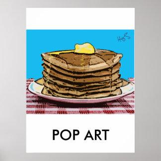 crêpes ART de POP Posters