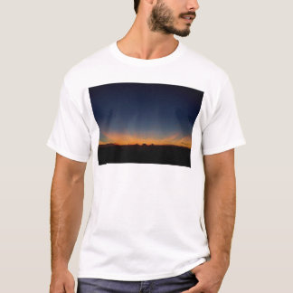 Crepuscular Rays at Sunset T-Shirt