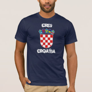 Cres, Croatia with coat of arms T-Shirt