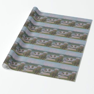 CRESCENT BEACH FISH CAMP Wrapping Paper