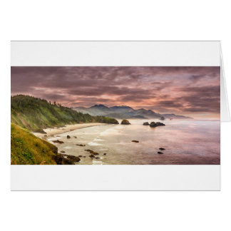 Crescent Beach from Ecola State Park Card