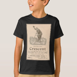 Crescent Bicycles Vintage Victorian Ad T-Shirt