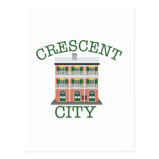 Crescent City Building Postcard