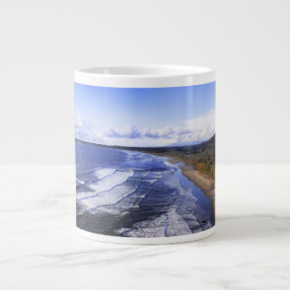 Crescent City CA Panorama Mug