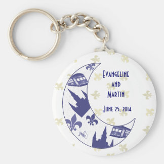 Crescent City Moon Keepsake Key Chains