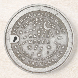 Crescent City Water Board Box Cover Coaster